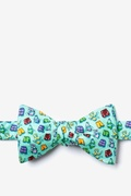 Nude Beach Butterfly Self Tie Bow Tie by Alynn Bow Ties