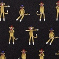 Sock Monkey Skinny Tie by Alynn Novelty