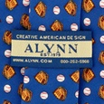 Baseball & Gloves Tie by Alynn Novelty