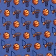 Basketball & Hoops Tie by Alynn Novelty