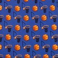 Basketball & Hoops Tie For Boys by Alynn Novelty