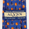 Basketball & Hoops Tie For Boys by Alynn