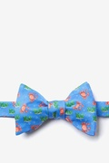 Crabs And Bubbles Butterfly Bow Tie by Alynn Bow Ties