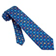 Football & Helmets Tie For Boys by Alynn