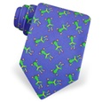 Kicking Frogs Tie by Alynn Novelty