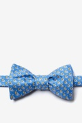 Micro Sailboats Butterfly Self Tie Bow Tie by Alynn Bow Ties