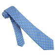 Micro Sailboats Skinny Tie by Alynn