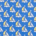 Micro Sailboats Skinny Tie by Alynn Novelty