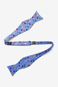 Rainbow Fleet Butterfly Self Tie Bow Tie by Alynn Bow Ties