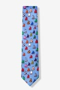 Rainbow Fleet Skinny Tie by Eric Holch for Alynn Neckwear