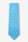 River Hippo Tie by Alynn Zoological