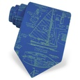 Sail Plans Tie by Alynn