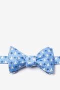 Sailboats & Compass Butterfly Self Tie Bow Tie by Alynn Bow Ties