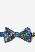 Take One Down, Pass It Around Self Tie Bow Tie by Alynn Bow Ties