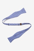 Trout & Fly Butterfly Self Tie Bow Tie by Alynn Bow Ties