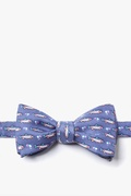 Trout & Fly Self Tie Bow Tie by Alynn Bow Ties