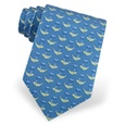 Whales' Tails Tie by Alynn Novelty