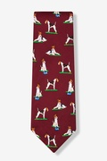Wire Fox Terrier Tie by Alynn Dog Ties