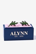 Alligators Cufflink by Alynn