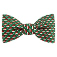 Micro Santa Caps Butterfly Self Tie Bow Tie by Alynn Bow Ties