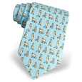 Meerkat Tie by Alynn Zoological