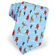 Santa's Day Off Tie by Alynn