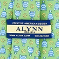 Jockey Silks Tie by Alynn