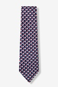 Christmas Whales Tie For Boys by Eric Holch for Alynn Neckwear