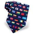 Country Flags Tie by Alynn Novelty