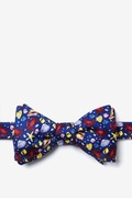 Crabs And Seashells Butterfly Bow Tie by Alynn Bow Ties