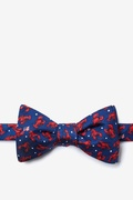 Crustacean Nation Butterfly Bow Tie by Alynn Bow Ties