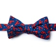 Crustacean Nation Butterfly Self Tie Bow Tie by Alynn Bow Ties
