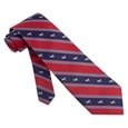 Democratic Donkey Stripe Tie by Alynn