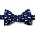 Democratic Donkeys Butterfly Bow Tie by Alynn Bow Ties