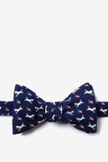 Democratic Donkeys Butterfly Self Tie Bow Tie by Alynn Bow Ties