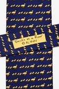Ducks In A Row Tie by Alynn