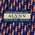 Golf Bags Tie by Alynn Novelty