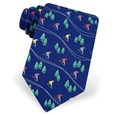 Hitting The Slopes Tie by Alynn