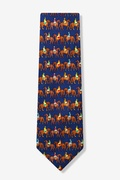 Jockeys Up Tie by Alynn