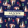 Marina Lights Tie by Eric Holch for Alynn Neckwear