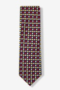 Market Ups & Downs Tie by Alynn