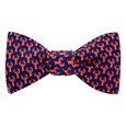 Micro Lobsters Butterfly Self Tie Bow Tie by Alynn Bow Ties
