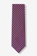 Micro Lobsters Tie by Alynn