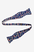 Musical Instruments Butterfly Bow Tie by Alynn Bow Ties