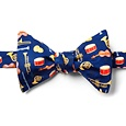 Musical Instruments Butterfly Self Tie Bow Tie by Alynn Bow Ties