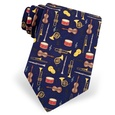 Musical Instruments Tie by Alynn