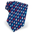 Pa-tree-otic Tie by Alynn