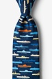 U.S. Aircraft Carriers Tie by Alynn