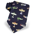 Vintage U.S. Warplanes Tie by Alynn