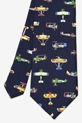 Vintage U.S. Warplanes Tie by Alynn Novelty
